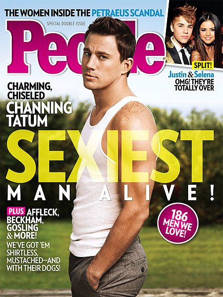 Sexiest Men 2012 Channing Tatum