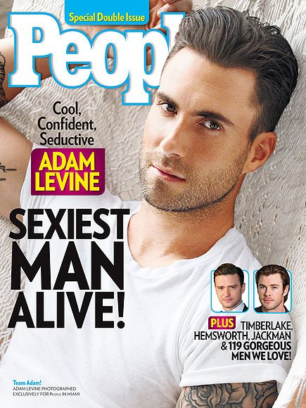 Hottest Man 2013 Adam Levine