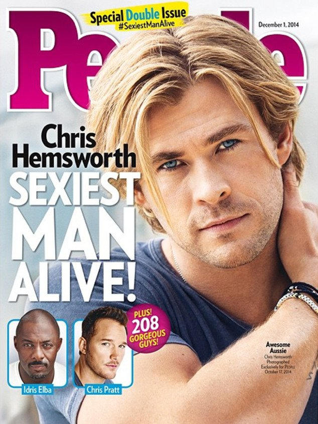 Sexiest Man 2014 Chris Hemsworth
