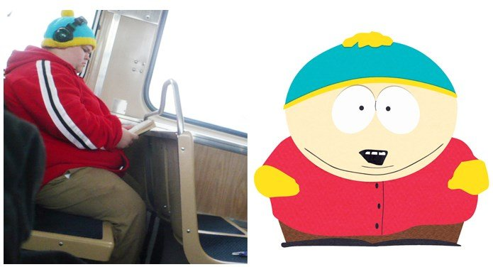 Similar to Each Other 4 - Real Life Cartman