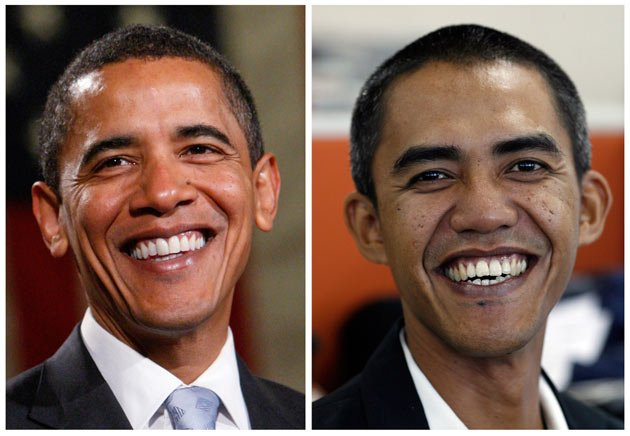 Similar to Each Other 7 - Obama Look Alike