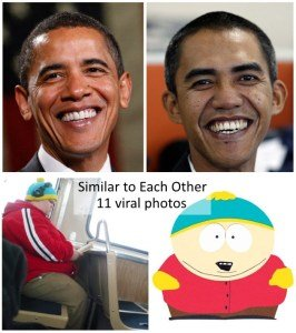 Similar to Each Other Viral Photos