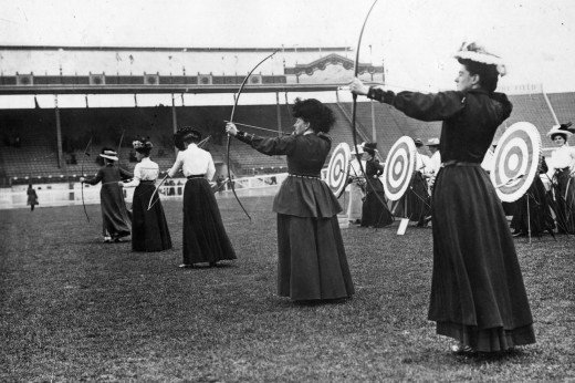Sports before Technology - Bow and arrows