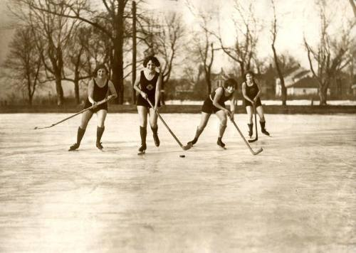Sports before Technology - Ice Hockey