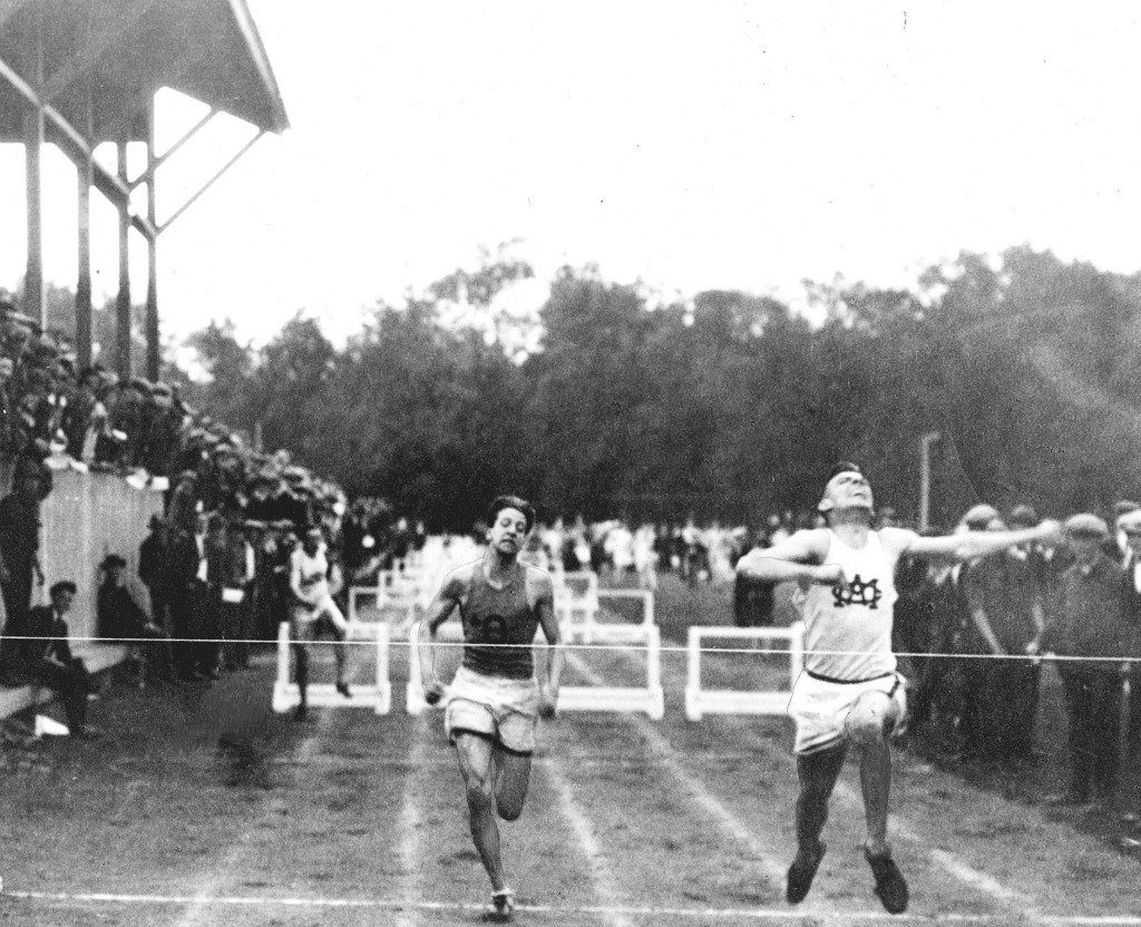 Sports before Technology - Running Finish Line