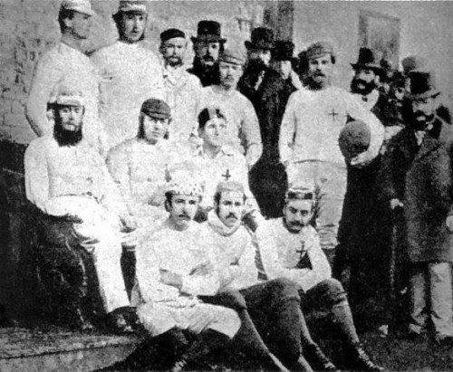Sports before Technology - Soccer Sheffield F.C. (Est. 1857)