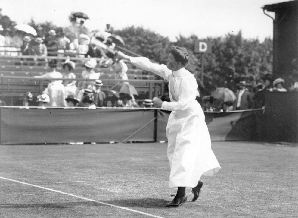 Sports before Technology - Tennis Women