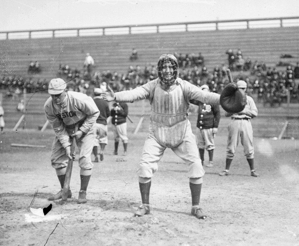 Sports before Technology - Vintage Baseball Boston 1909