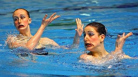 synchronized swimming funny photos 1