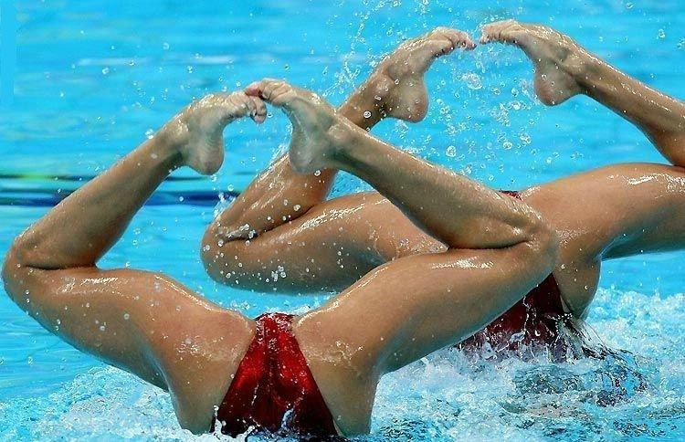synchronized swimming sexy photos 16