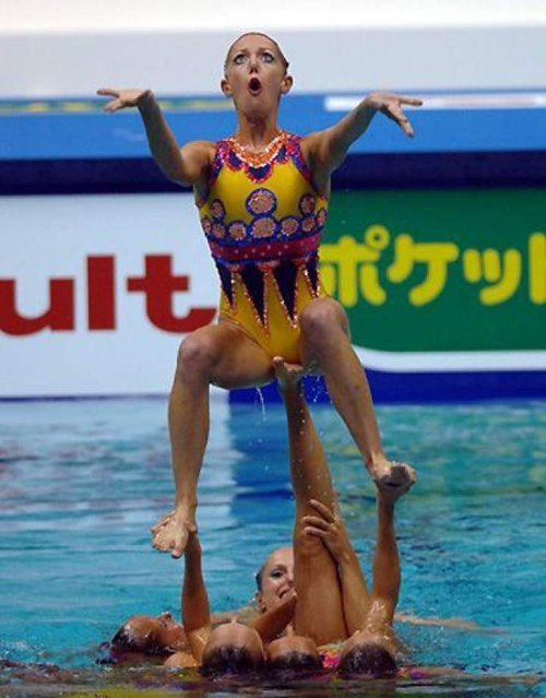 synchronized swimming oops photos 2