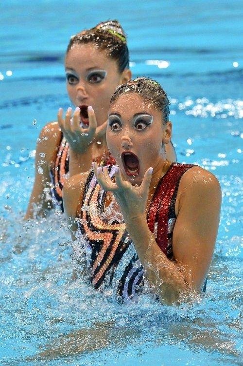 synchronized swimming scary photos 5