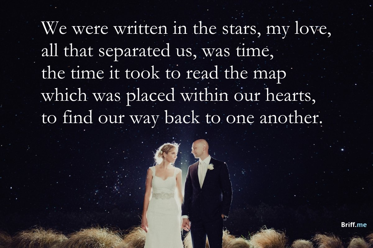 Stars And Love Quotes: Best Wedding Quotes About Love, Rain And Laughter