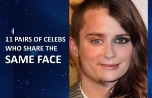 Celebrities Faces pairs who look exactly the same