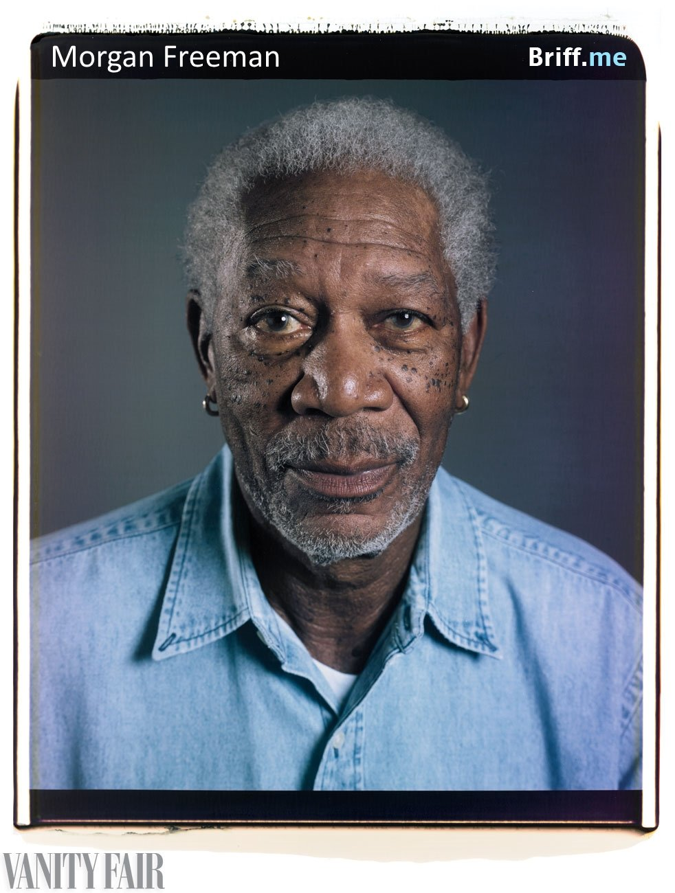 Celebs without Makeup 11 Morgan Freeman