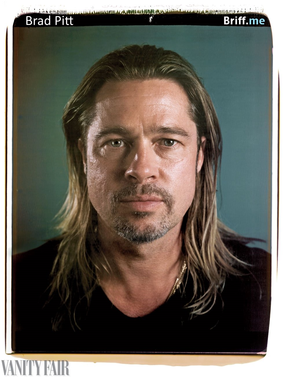 Celebrities without Makeup 2 Brad Pitt