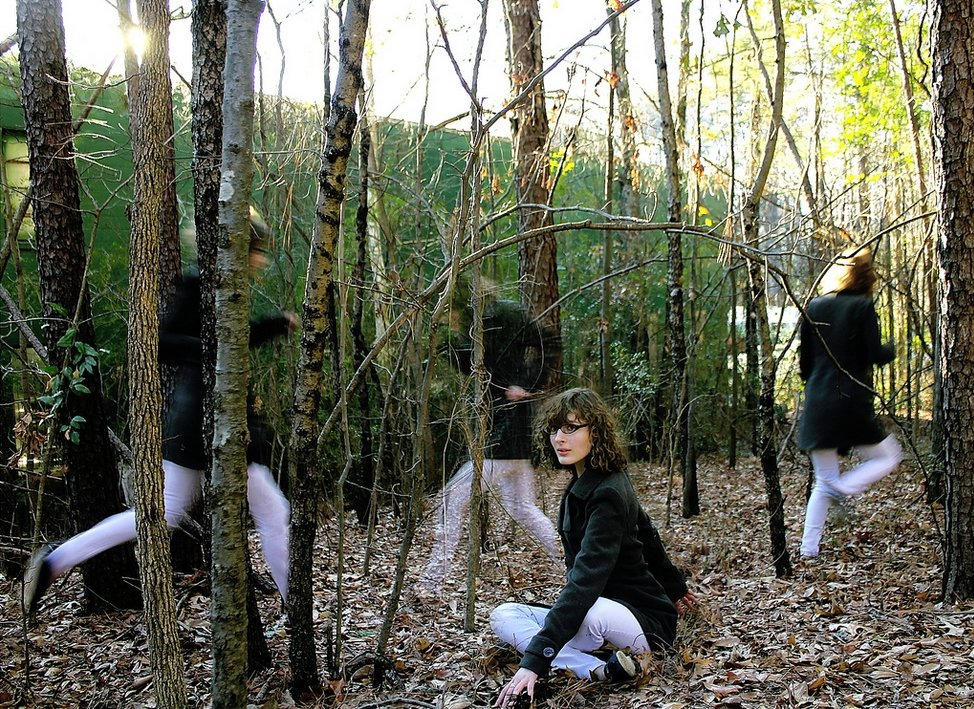 Clone Photographs 23 Forest woman