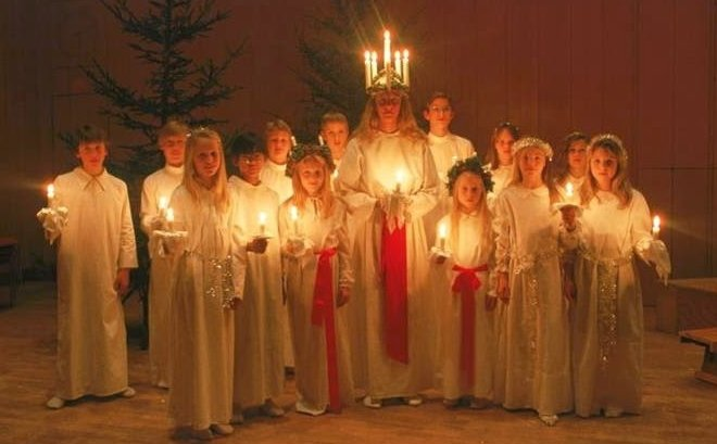 Festival of Lights 6 Sweden Saint Lucy Day