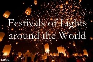 Festivals of Lights around the World