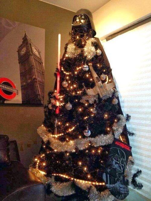 Funny Christmas Trees 2 Star Wars