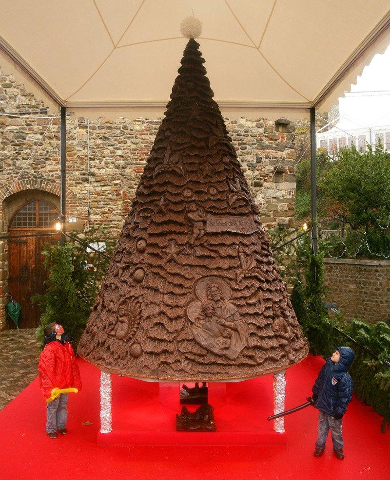 Funny Christmas Trees 4 Chocolate