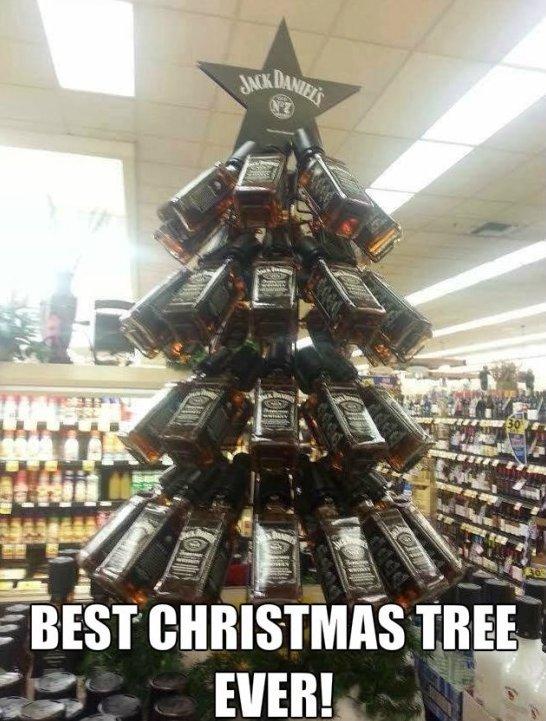 Funny Christmas Trees 6 Jack Daniels