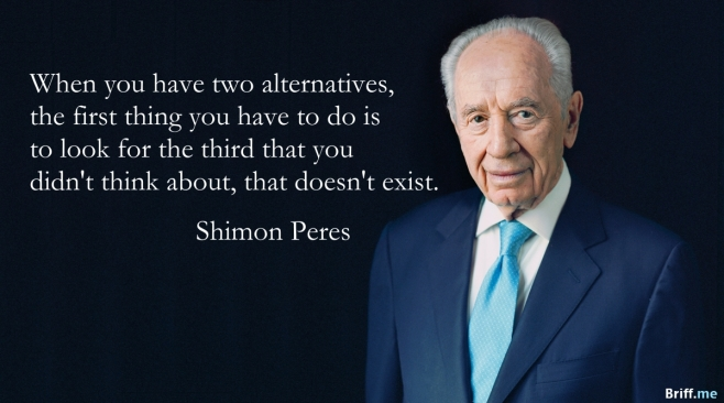 Inspirational Quotes Shimon Peres Alternatives
