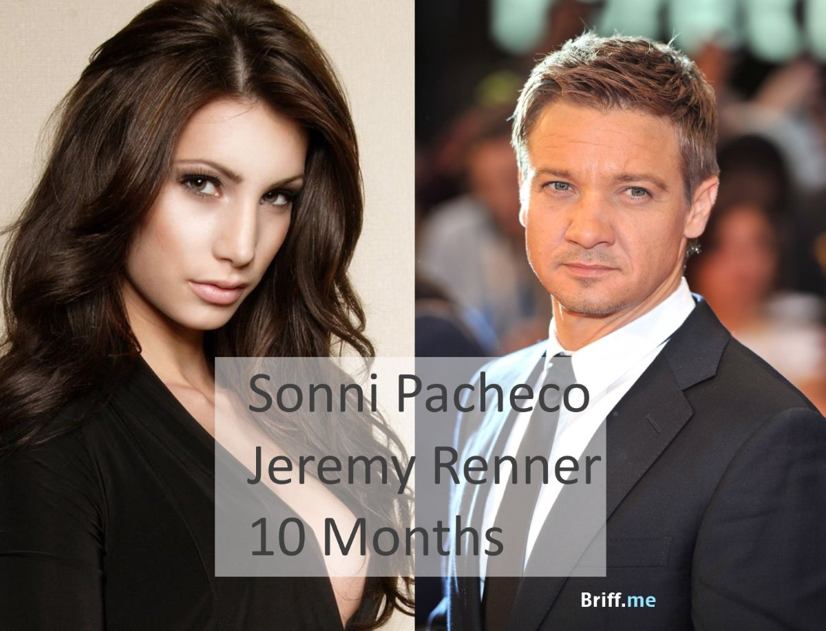Short Marriage - Sonni Pacheco and Jeremy Renner - 10 Months