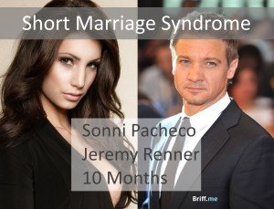 Short Marriage Syndrome