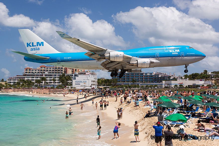 Special Beaches 7 Maho Airplane Beach