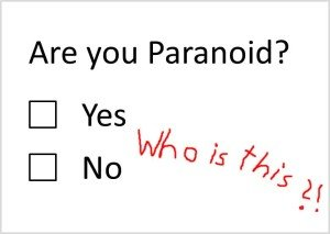 Are You Paranoid