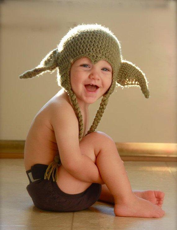Baby Yoda Costume 1