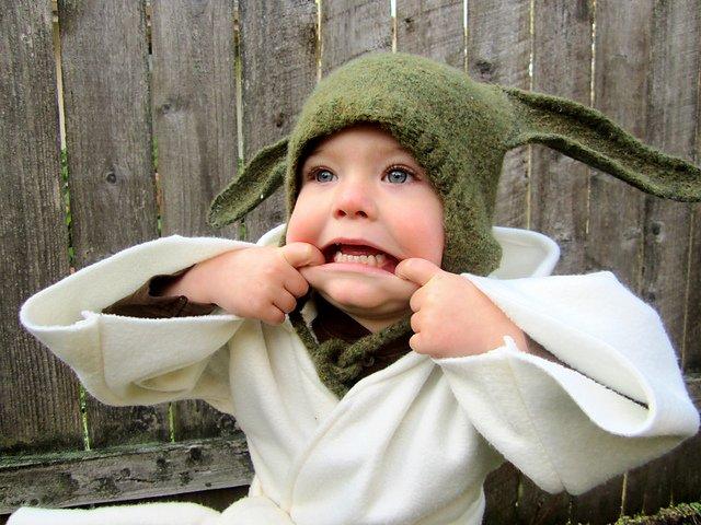 Baby Yoda Handmade Costume 13