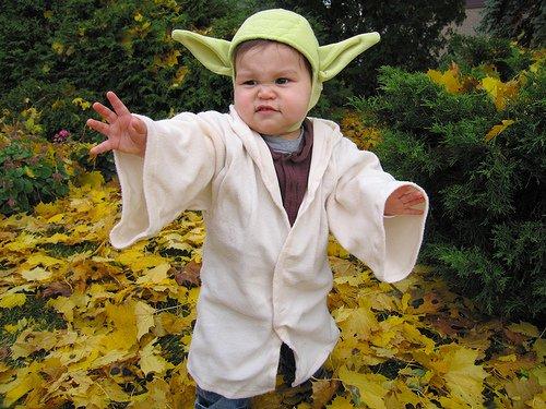 Baby Yoda Handmade Costume 15