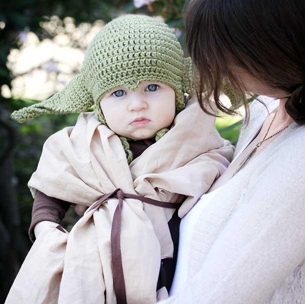 Baby Yoda Costume 18