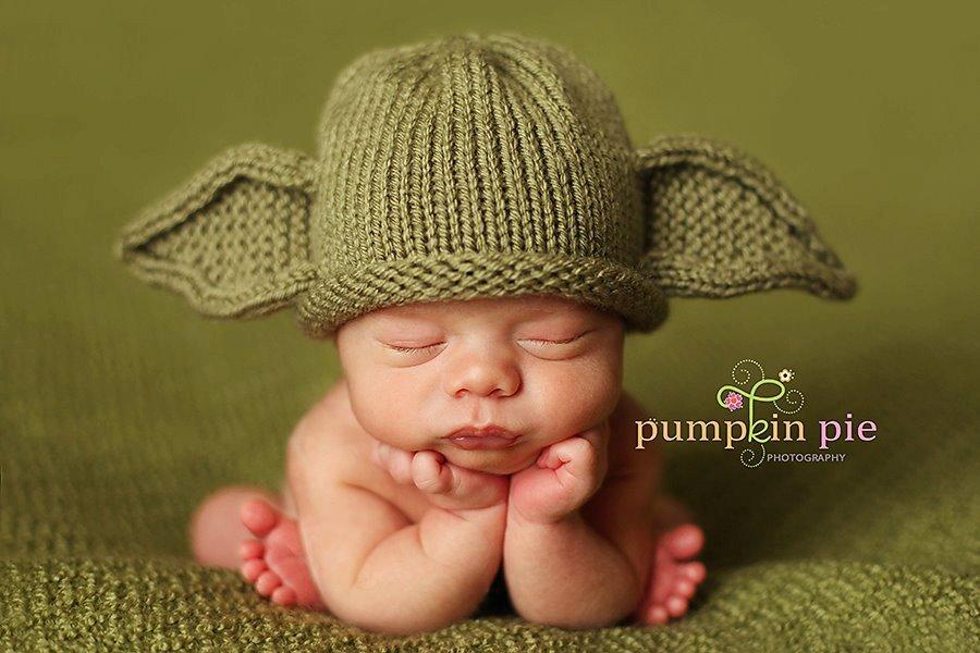 Baby Yoda Handmade Costume 3