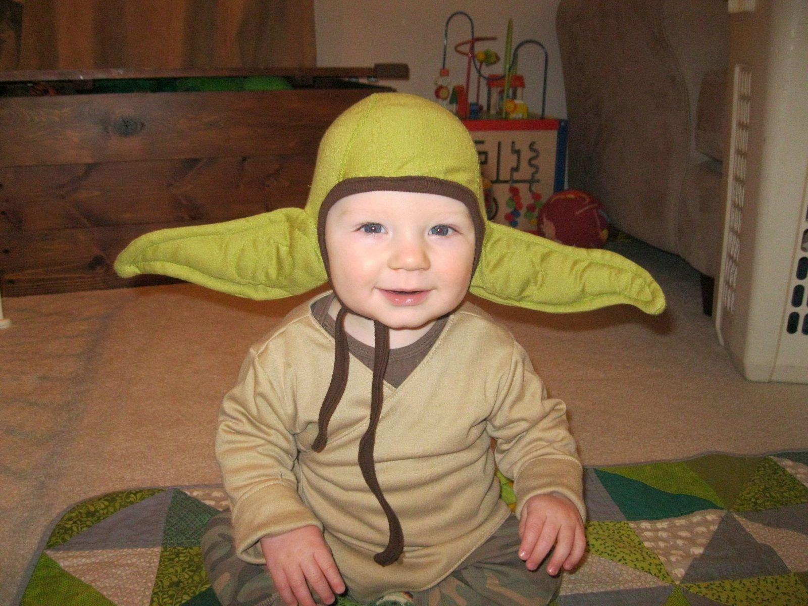 Baby Yoda Handmade Costume 5