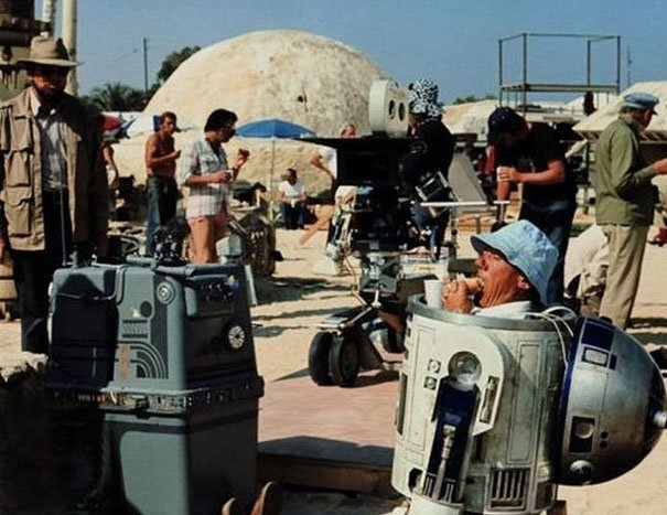 Behind of The Scenes 11 - Star Wars 1