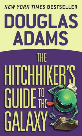 Best Book Titles 4 - The Hitchhiker's Guide to the Galaxy