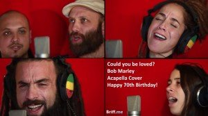 Bob Marley Amazing A Capella Cover - Could You Be Loved?