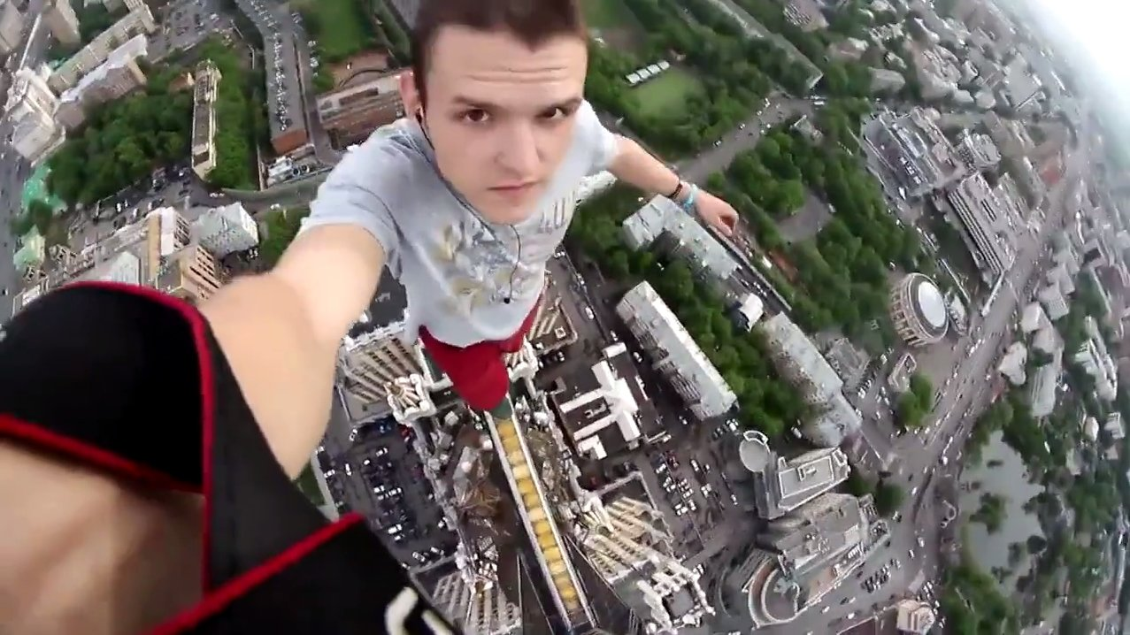 Fear of Heights Not - Crazy Viedo 10