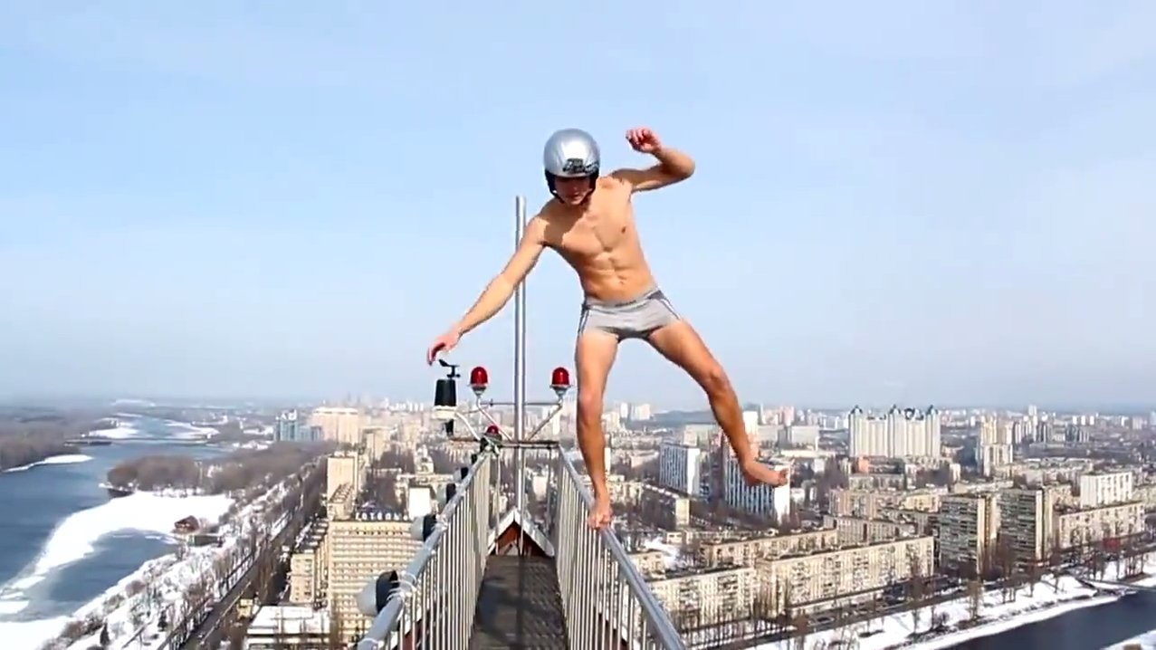 Fear of Heights Not - Crazy Viedo 4