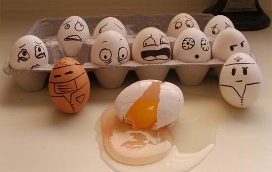 Funny Egg art 10 broken
