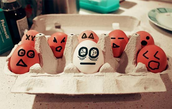 Funny Eggs 11 stoned