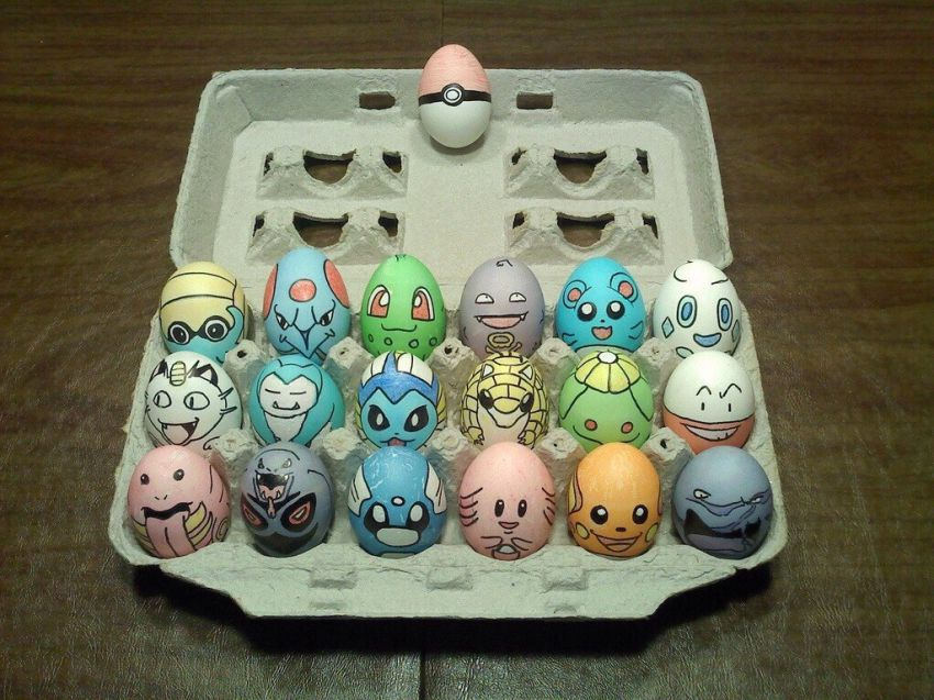 Funny Eggs 12 pokemon