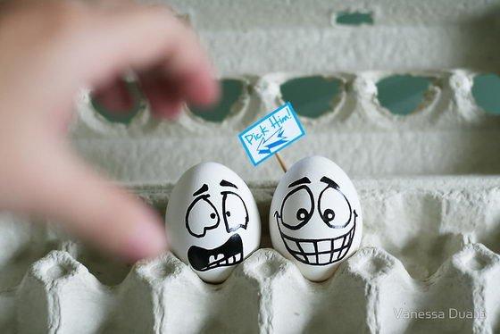 Funny Eggs 2 pick him