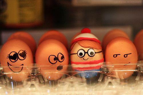 Funny Egg art 20 waldo