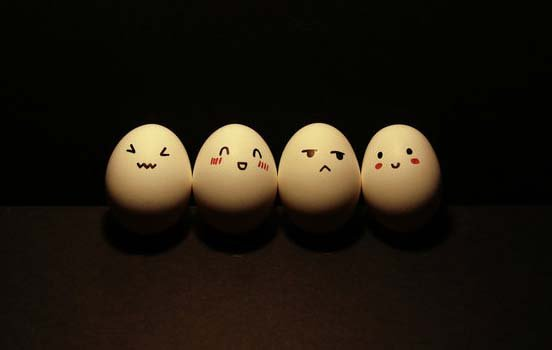 Funny Egg drawings 5 Japan