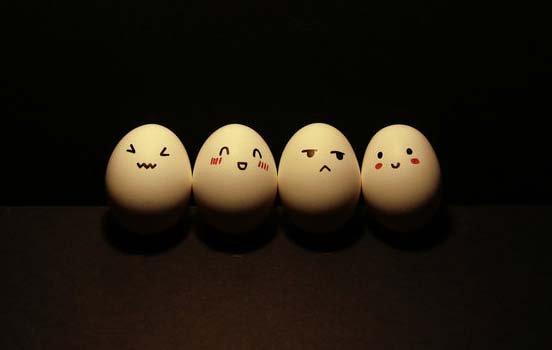 Funny Egg drawings 5 Japan