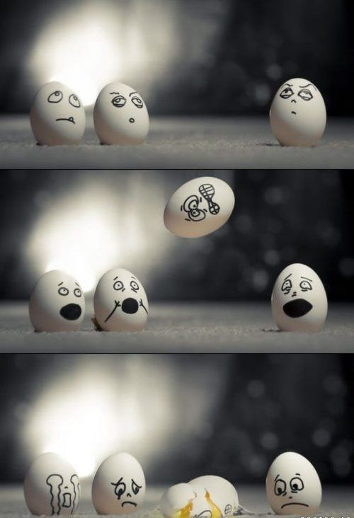 Funny Egg photos 6 falling